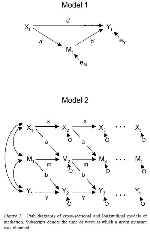 testing-mediational-models-with-longitudinal-data-figure-1
