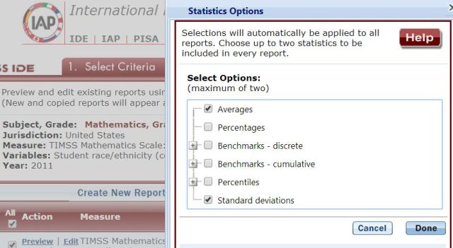 NCES IDE Step3 Edit Report, TIMSS Math 2011, Grade8, US, by race-ethnicity