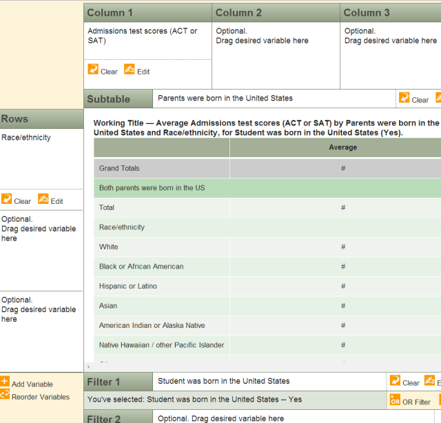 NCES survey select variables (2)